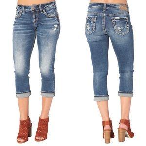 Silver Jeans Elyse Capri | 31